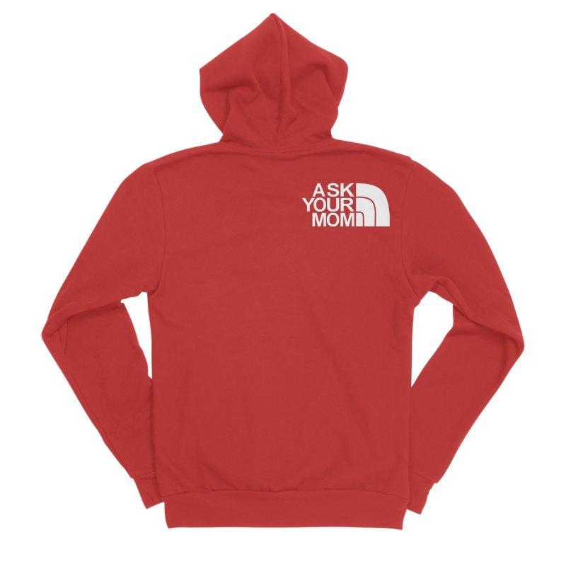 The Ask Face Women's Zip-Up Hoody by Ask Your Mom's Artist Shop