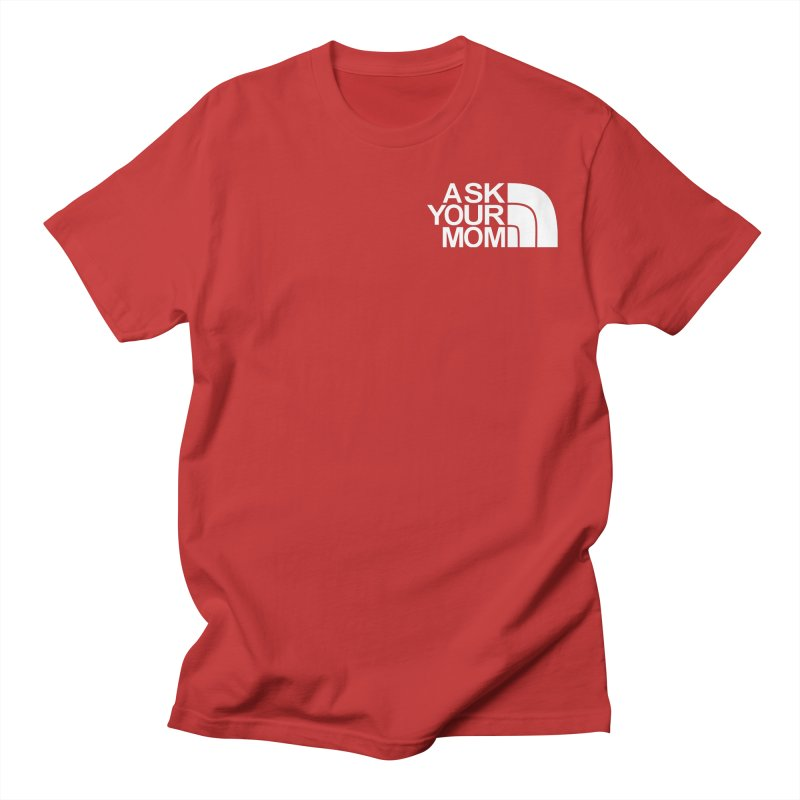 The Ask Face Men's T-Shirt by Ask Your Mom's Artist Shop