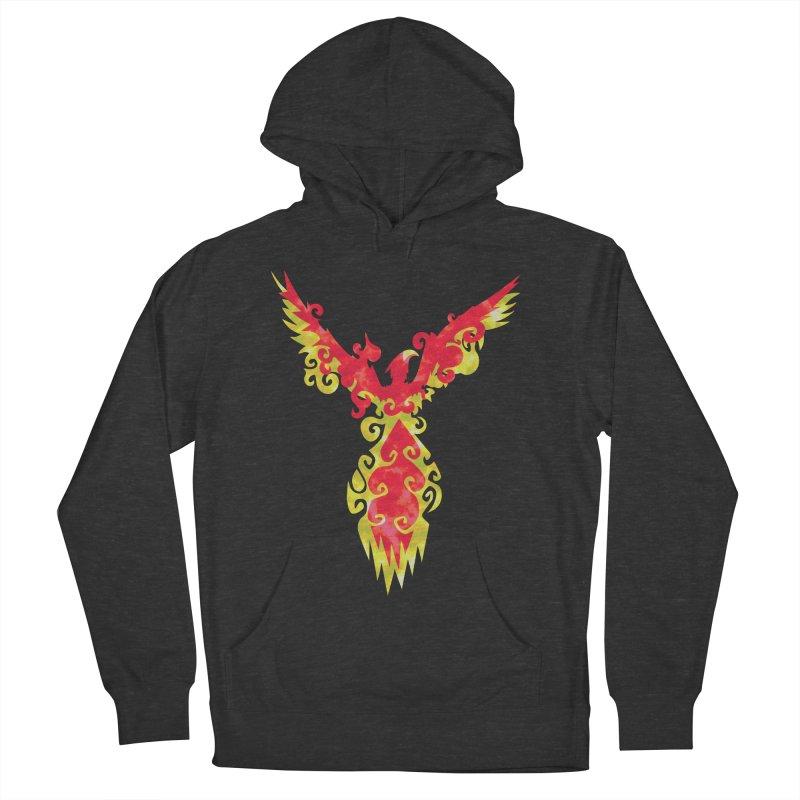 Phoenix Men's Pullover Hoody by asolecreative's Artist Shop