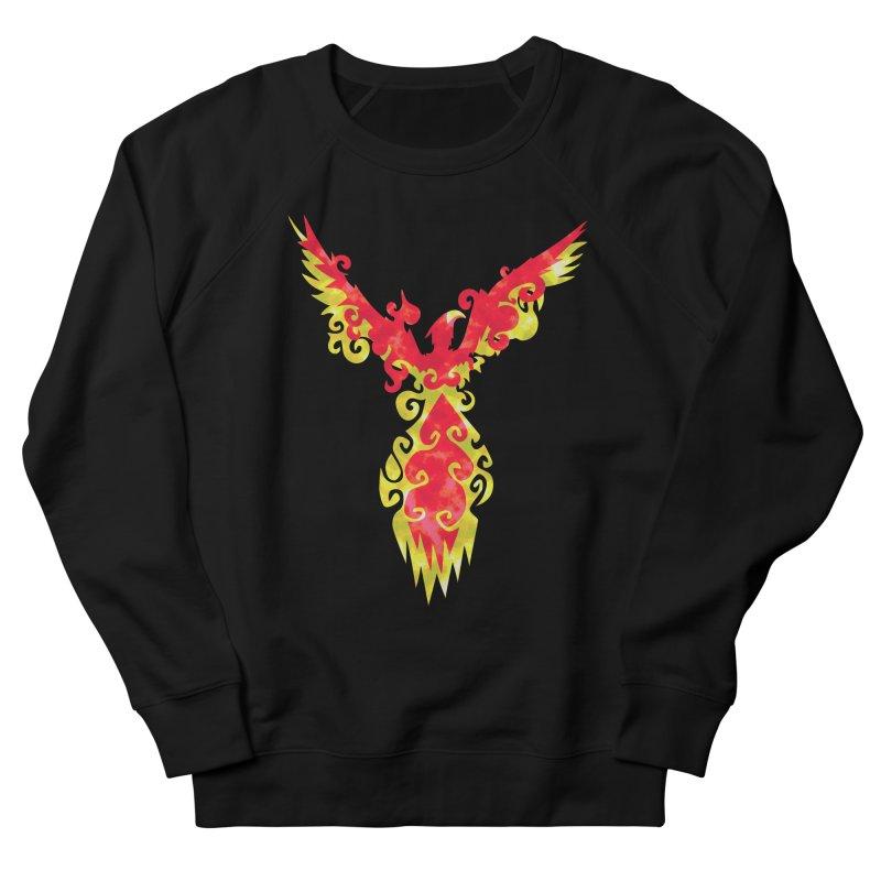 Phoenix Men's Sweatshirt by asolecreative's Artist Shop