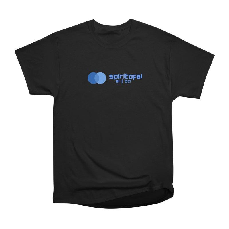 Spirit of Ai™ Men's Heavyweight T-Shirt by Aspect Black™