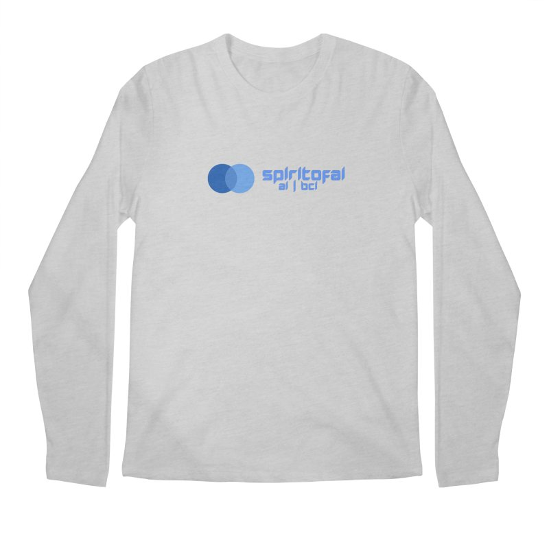 Spirit of Ai™ Men's Regular Longsleeve T-Shirt by Aspect Black™