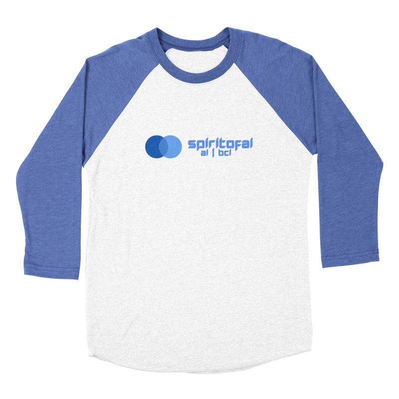 Spirit of Ai™ Women's Baseball Triblend Longsleeve T-Shirt by Aspect Black™