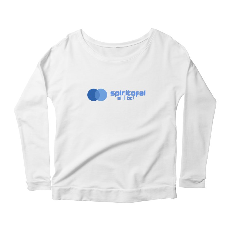 Spirit of Ai™ Women's Scoop Neck Longsleeve T-Shirt by Aspect Black™