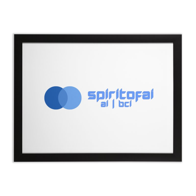 Spirit of Ai™ Home Framed Fine Art Print by Aspect Black™