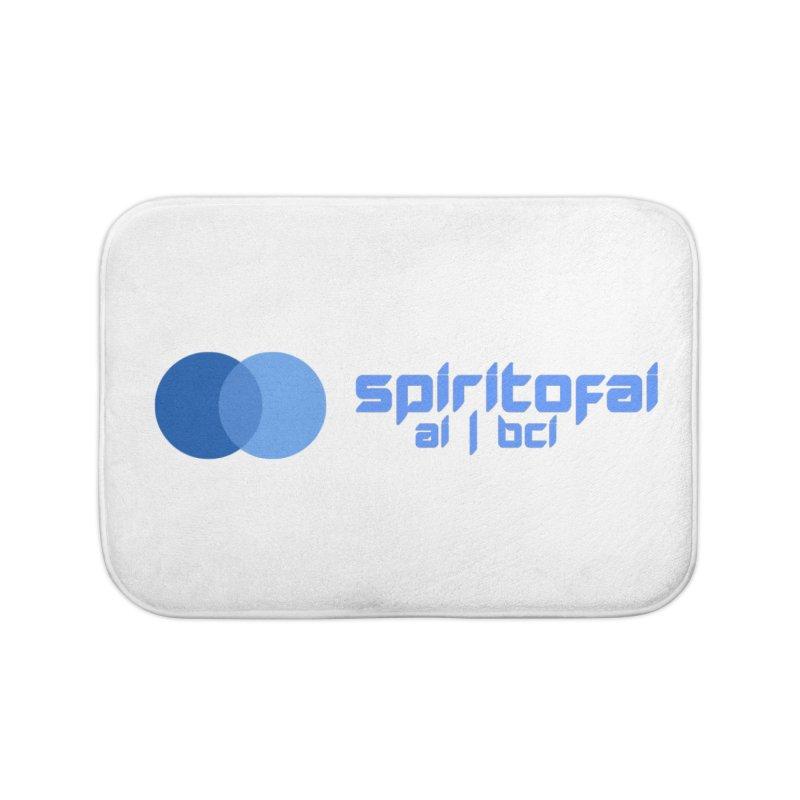 Spirit of Ai™ Home Bath Mat by Aspect Black™