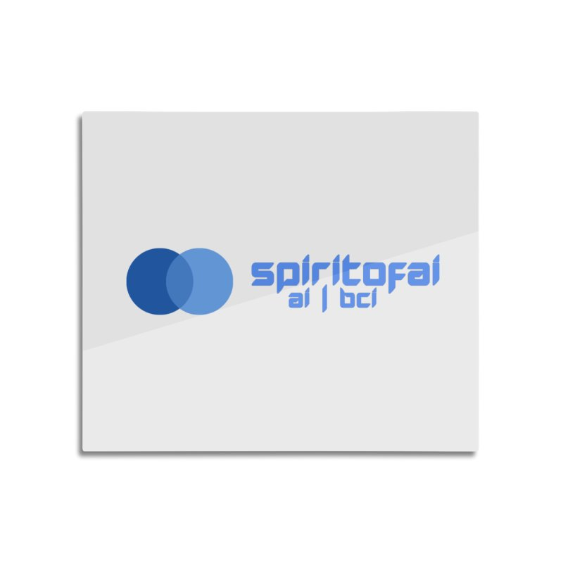 Spirit of Ai™ Home Mounted Aluminum Print by Aspect Black™