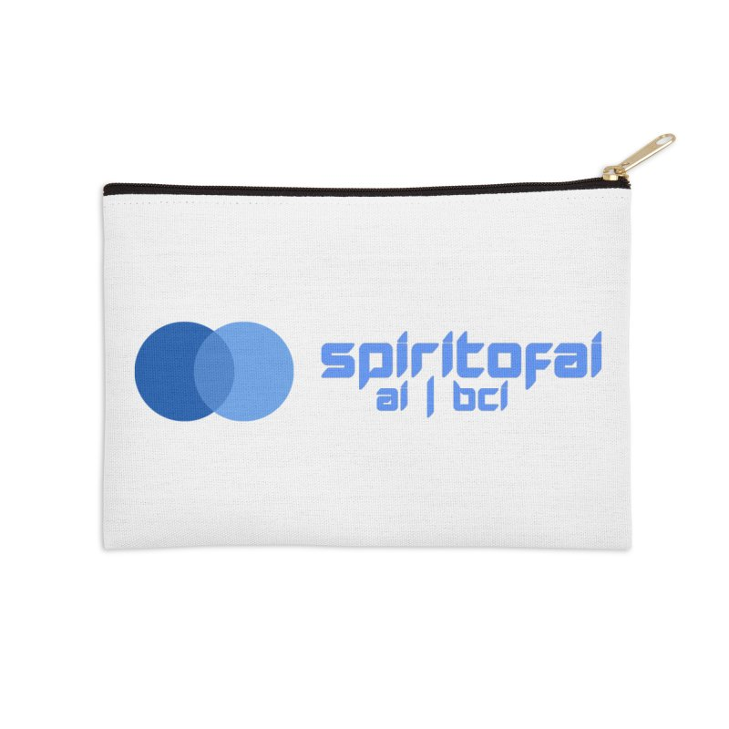 Spirit of Ai™ Accessories Zip Pouch by Aspect Black™