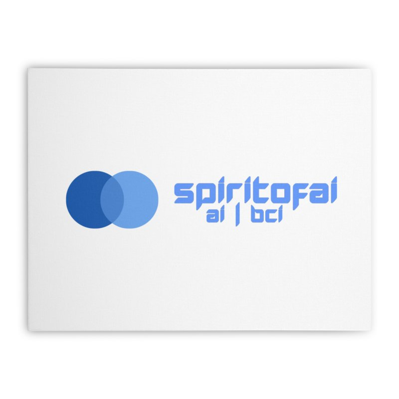 Spirit of Ai™ Home Stretched Canvas by Aspect Black™