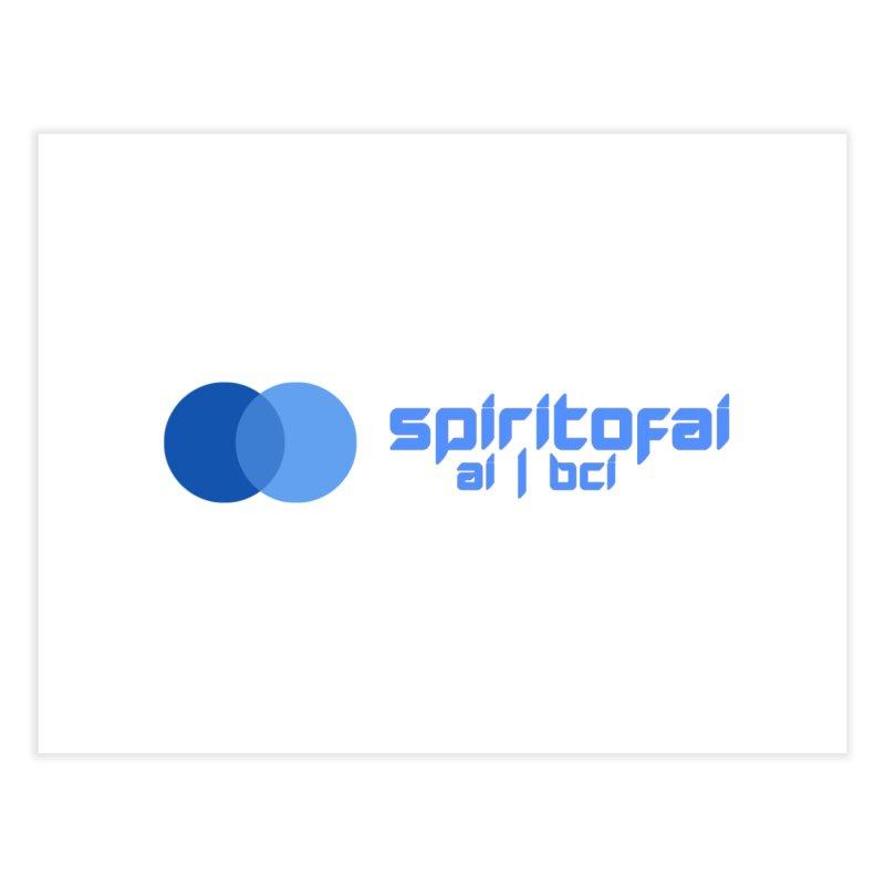 Spirit of Ai™ Home Fine Art Print by Aspect Black™