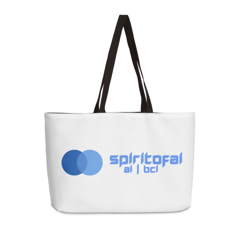Spirit of Ai™ Accessories Weekender Bag Bag by Aspect Black™