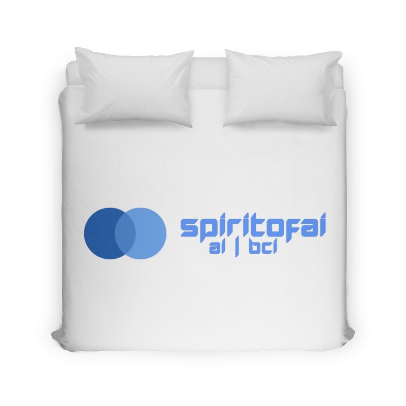 Spirit of Ai™ Home Duvet by Aspect Black™