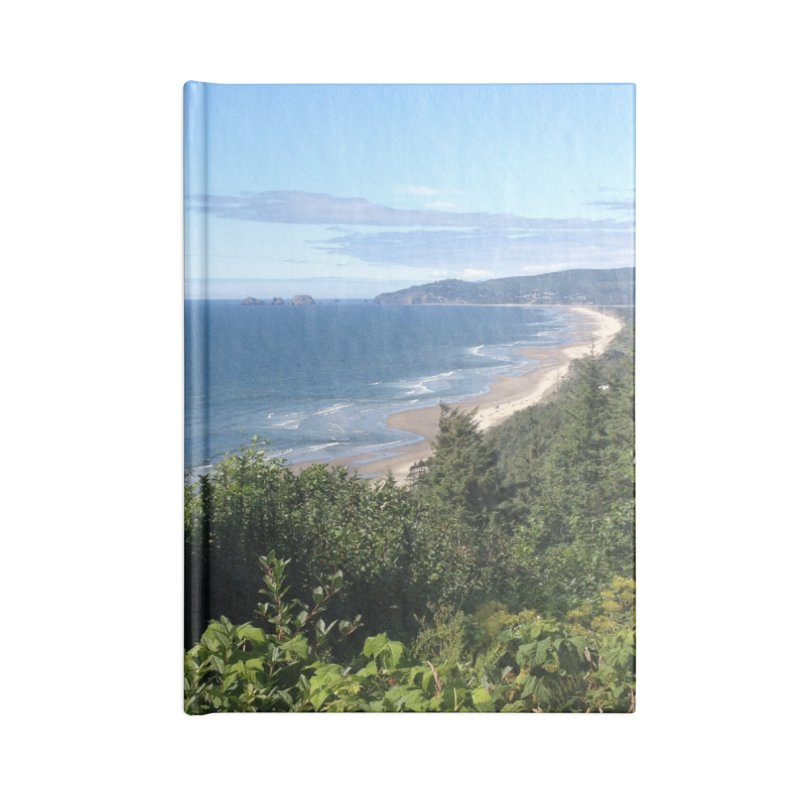 Oregon Coast Journals & Prints Accessories Blank Journal Notebook by Aspect Black™