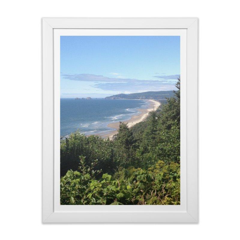 Oregon Coast Journals & Prints Home Framed Fine Art Print by Aspect Black™
