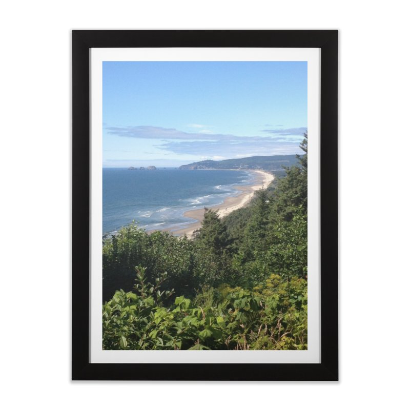 Oregon Coast Journals & Prints Home Framed Fine Art Print by Aspect Black™
