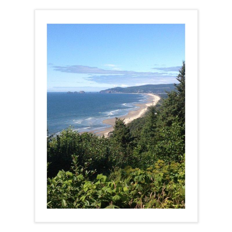 Oregon Coast Journals & Prints Home Fine Art Print by Aspect Black™