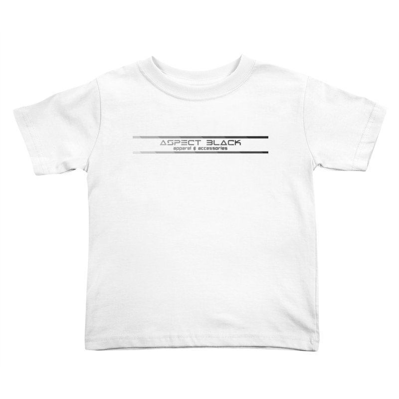 Aspect Black™ Logo Kids Toddler T-Shirt by Aspect Black™