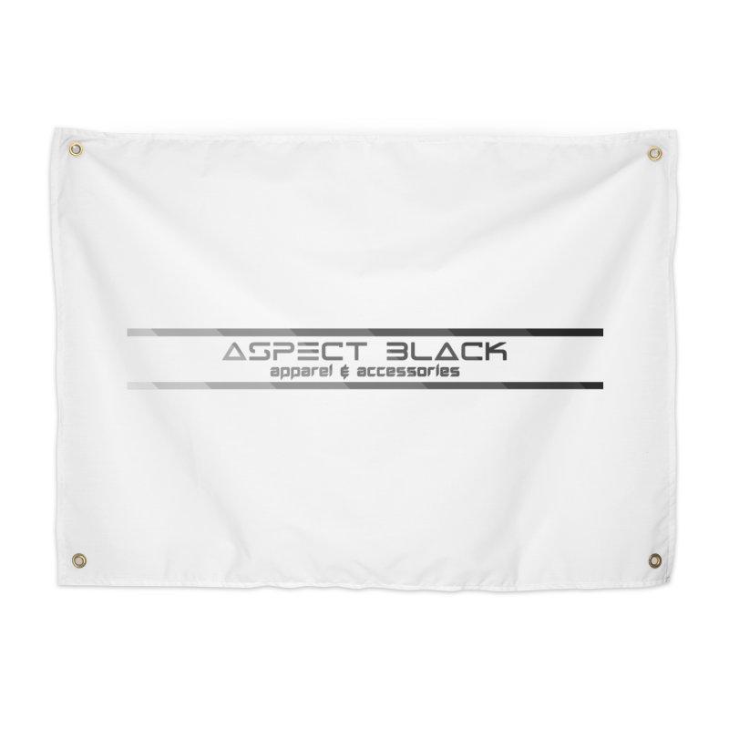 Aspect Black™ Logo Home Tapestry by Aspect Black™