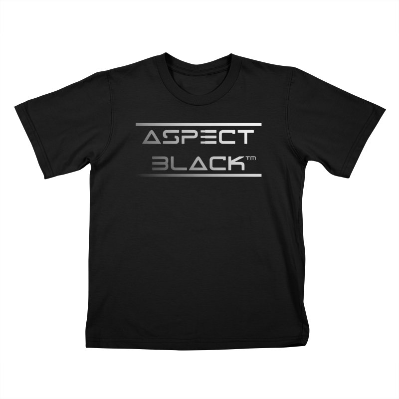 Aspect Black™ Logo Kids T-Shirt by Aspect Black™