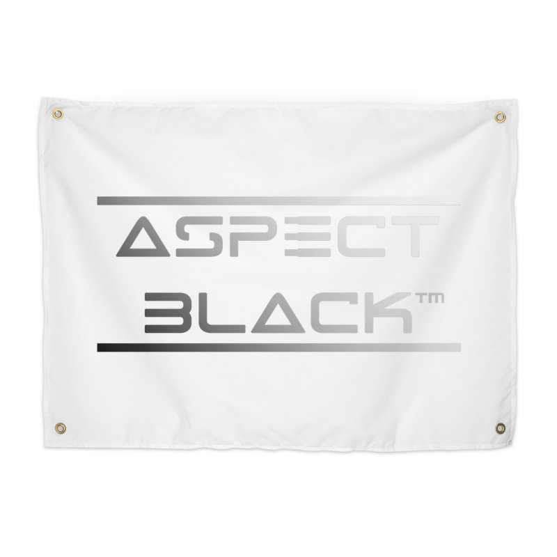 Aspect Black™ Logo Home Tapestry by Aspect Black™