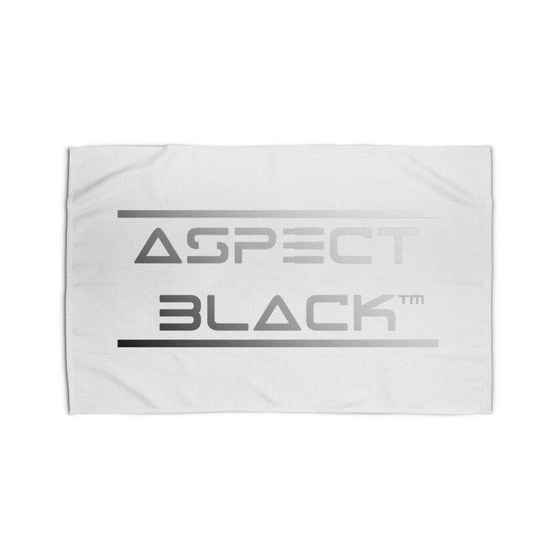 Aspect Black™ Logo Home Rug by Aspect Black™