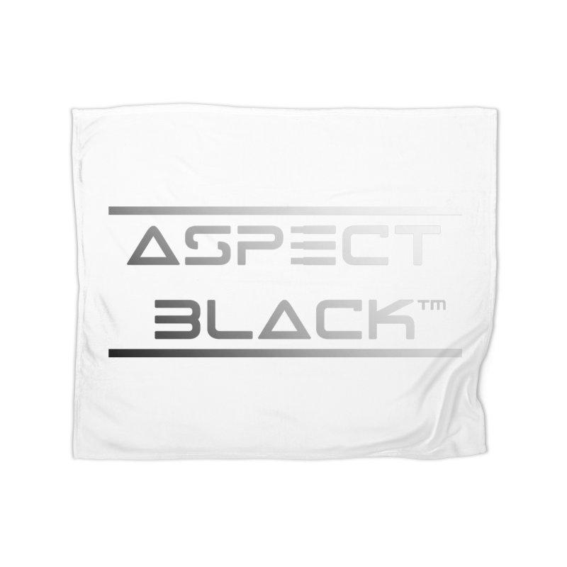 Aspect Black™ Logo Home Blanket by Aspect Black™