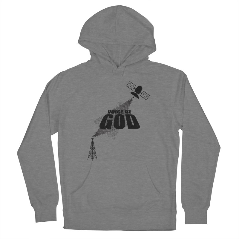 Voice of God - Light Men's French Terry Pullover Hoody by Aspect Black™