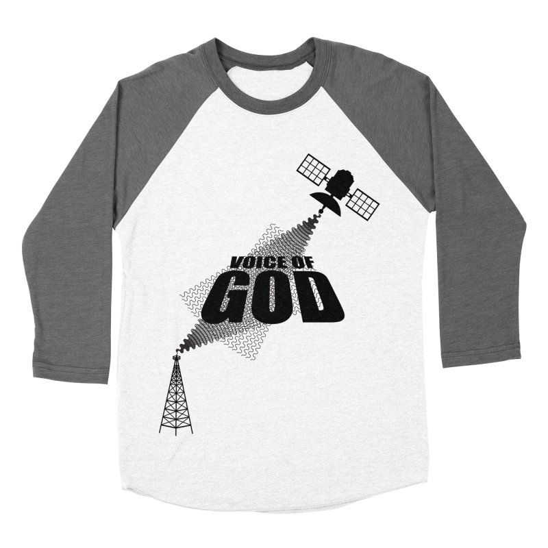 Voice of God - Light Women's Baseball Triblend T-Shirt by Aspect Black™