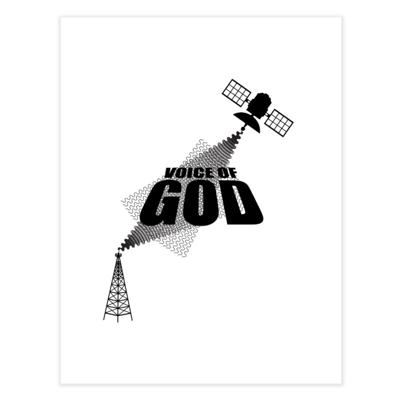 Voice of God - Light Home Fine Art Print by Aspect Black™