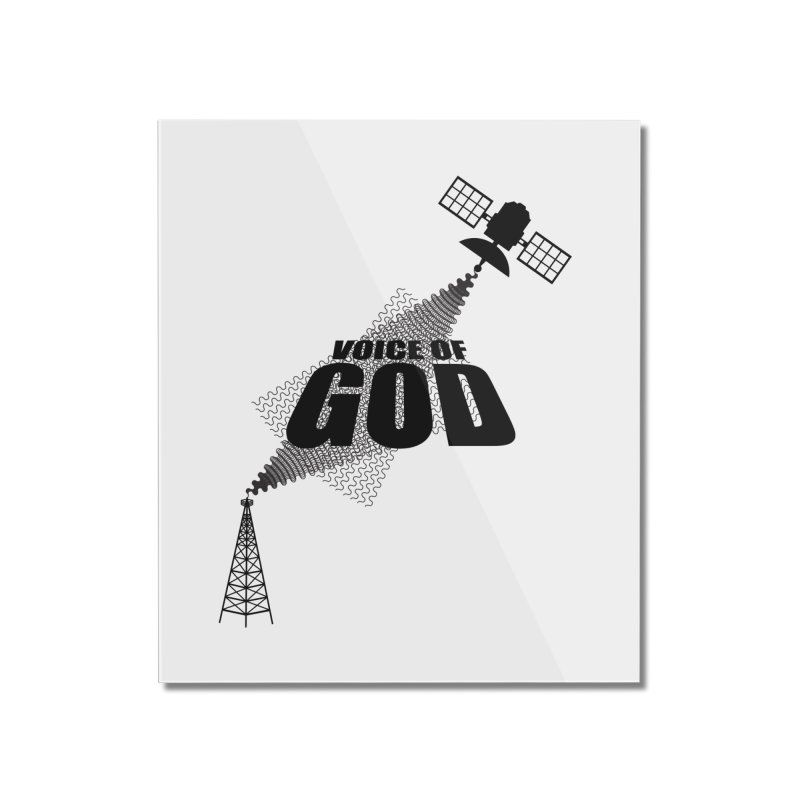 Voice of God - Light Home Mounted Acrylic Print by Aspect Black™