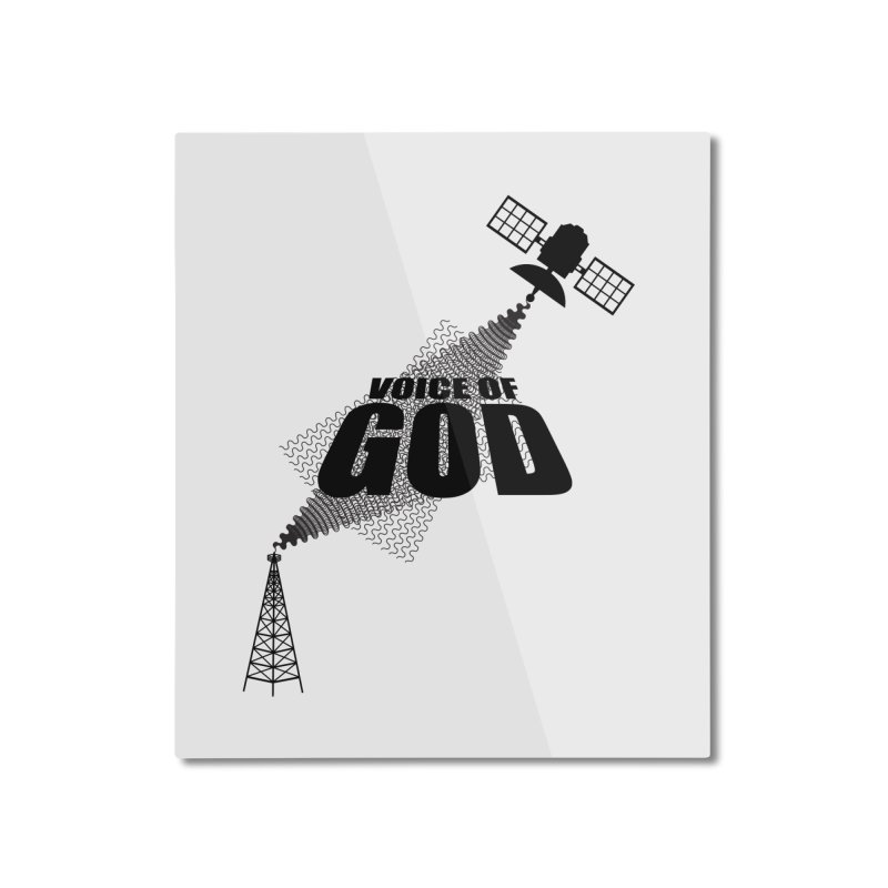 Voice of God - Light Home Mounted Aluminum Print by Aspect Black™