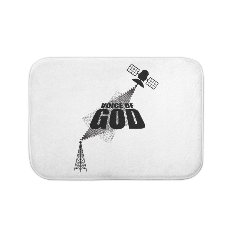 Voice of God - Light Home Bath Mat by Aspect Black™