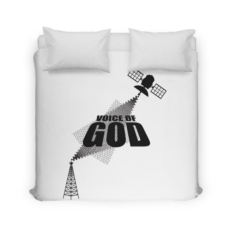 Voice of God - Light Home Duvet by Aspect Black™