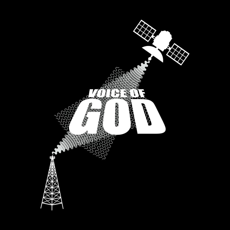 Voice of God - Dark Men's T-Shirt by Aspect Black™