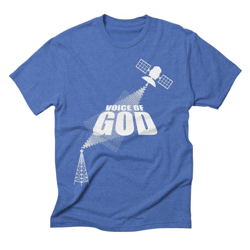 Voice of God - Dark Men's T-Shirt by Aspect Black™
