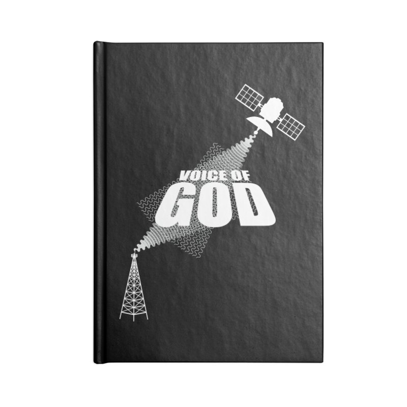Voice of God - Dark Accessories Notebook by Aspect Black™
