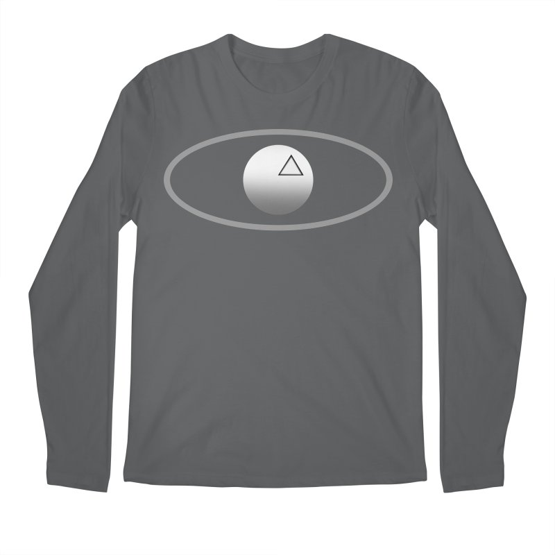Universal Aspects™ Logo - Light Men's Longsleeve T-Shirt by Aspect Black™