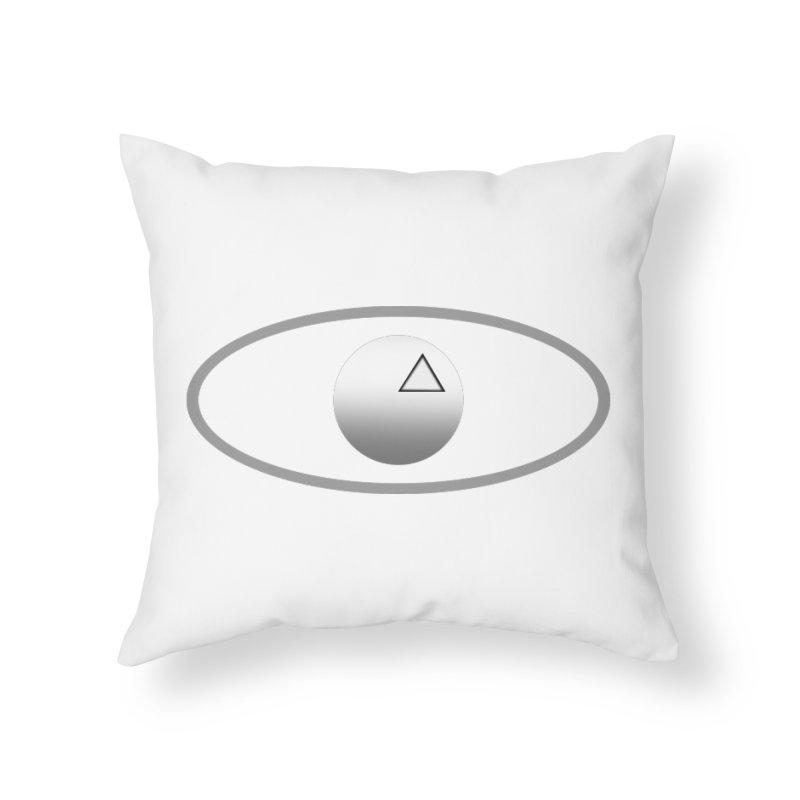 Universal Aspects™ Logo - Light Home Throw Pillow by Aspect Black™