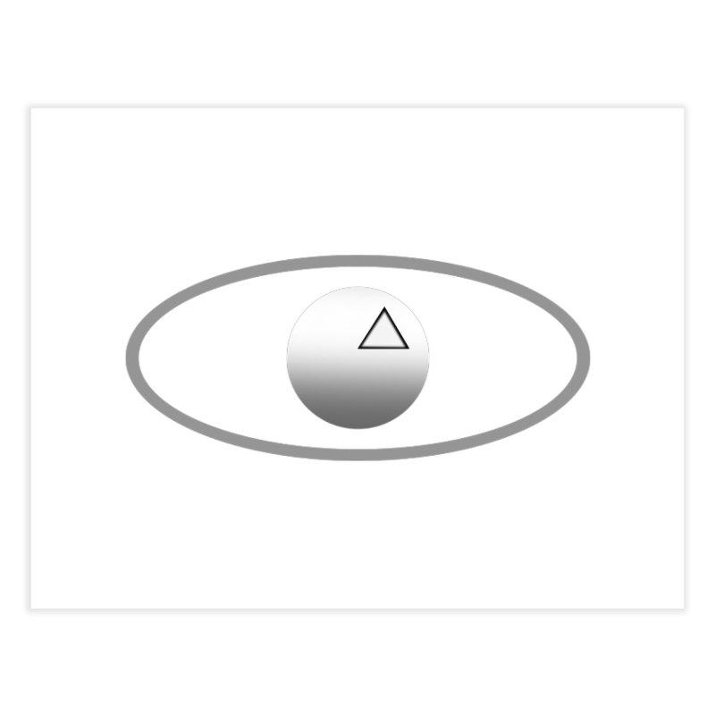 Universal Aspects™ Logo - Light Home Fine Art Print by Aspect Black™