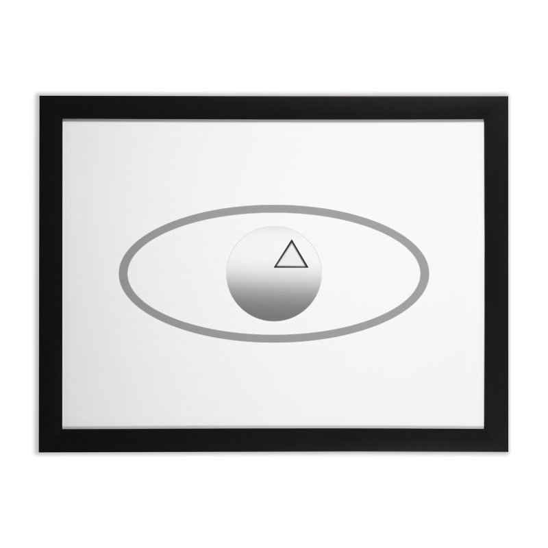 Universal Aspects™ Logo - Light Home Framed Fine Art Print by Aspect Black™