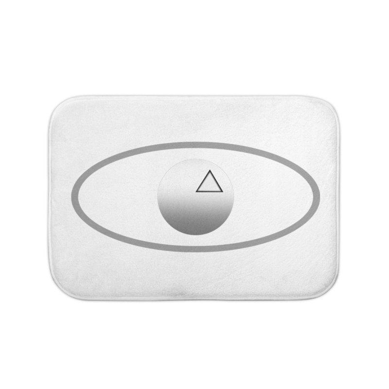 Universal Aspects™ Logo - Light Home Bath Mat by Aspect Black™