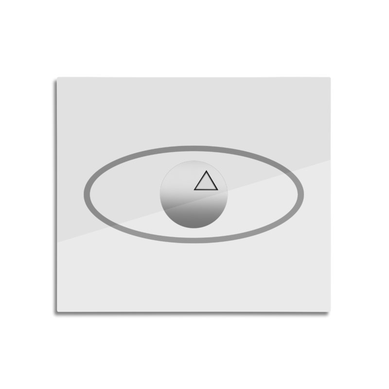Universal Aspects™ Logo - Light Home Mounted Aluminum Print by Aspect Black™