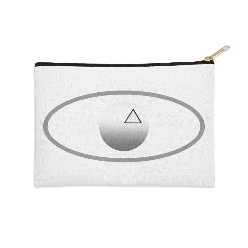 Universal Aspects™ Logo - Light Accessories Zip Pouch by Aspect Black™