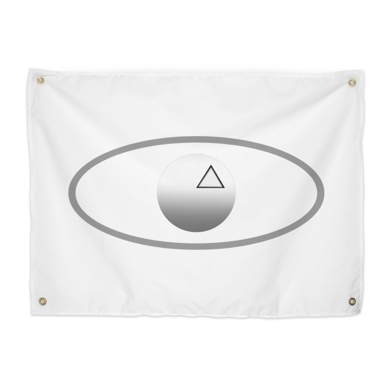 Universal Aspects™ Logo - Light Home Tapestry by Aspect Black™