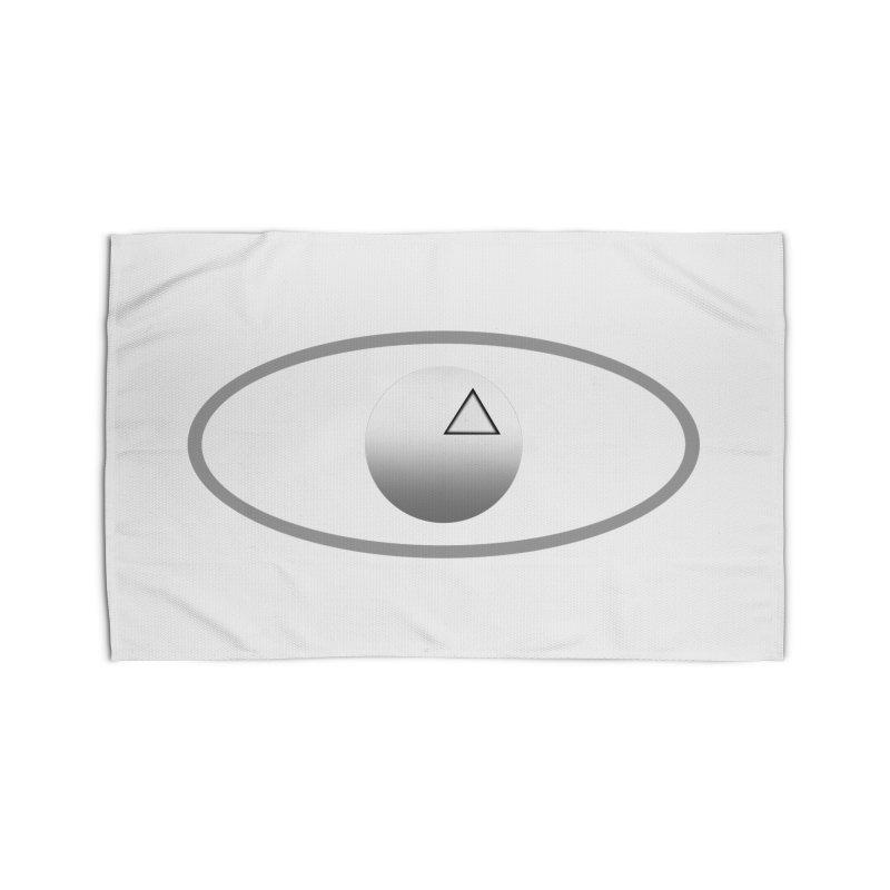 Universal Aspects™ Logo - Light Home Rug by Aspect Black™
