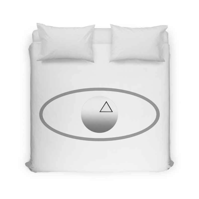 Universal Aspects™ Logo - Light Home Duvet by Aspect Black™