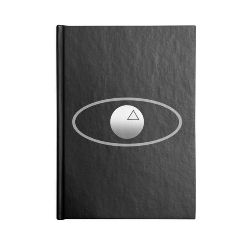 Universal Aspects™ Logo - Dark Accessories Notebook by Aspect Black™