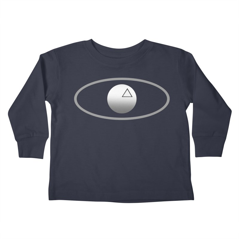Universal Aspects™ Logo - Dark Kids Toddler Longsleeve T-Shirt by Aspect Black™