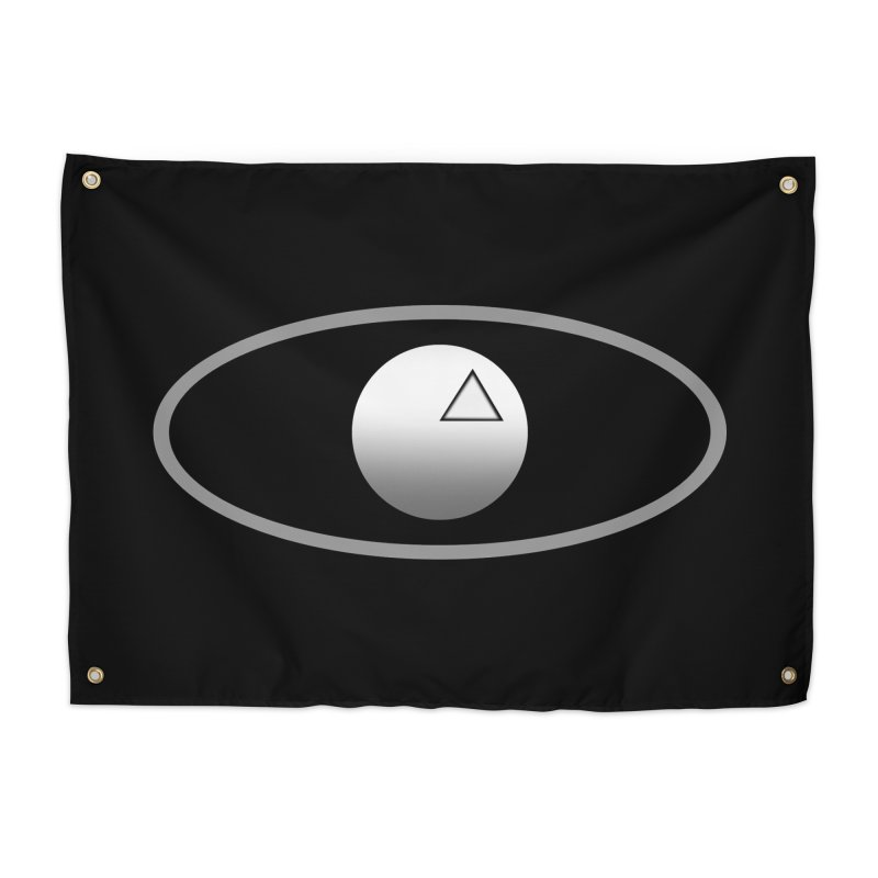 Universal Aspects™ Logo - Dark Home Tapestry by Aspect Black™