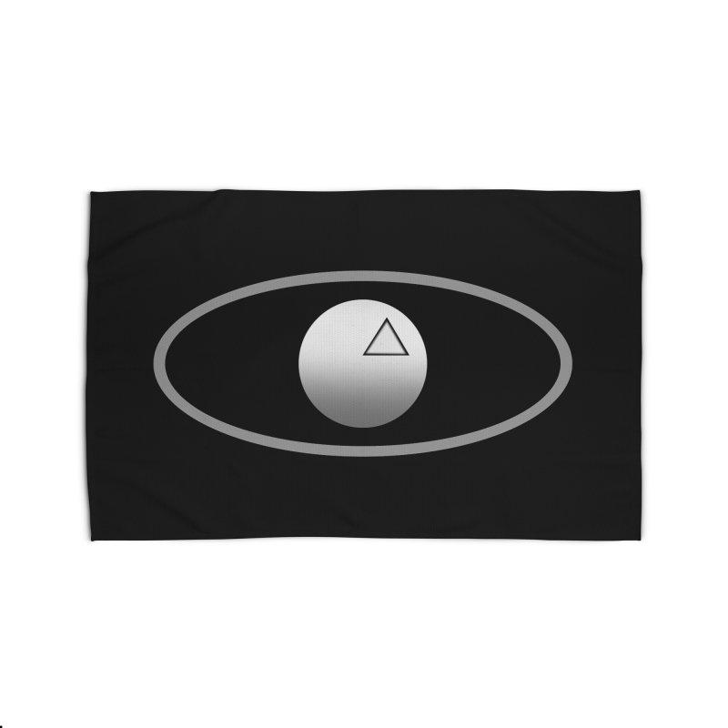 Universal Aspects™ Logo - Dark Home Rug by Aspect Black™